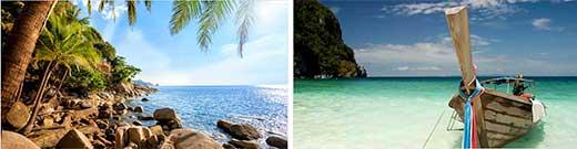 Krabi och Phuket
