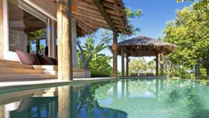 Phuket Naka island tropical pool villa