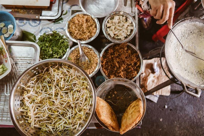 Upplev Bangkoks unika matkultur